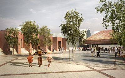 New covered urban space to revitalize city life in Aars