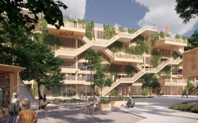 We are designing Denmark's first wooden parking house
