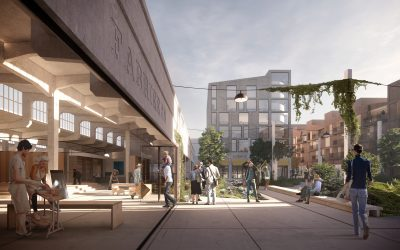 Competition win! Industrial history embedded in masterplan