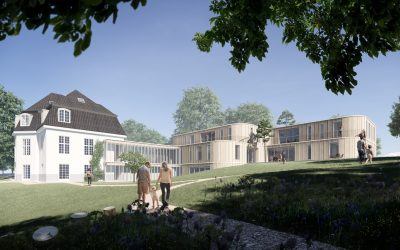 Social timber: We won the new extension to a beautiful observation home in Bagsværd